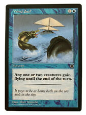 �� Wind Sail Portal Second Age set card Mtg Magic: The Gathering 1998 �