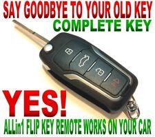 ALLin1 flip key remote for Toyota GQ43VT2OT Dot chip transmitter clicker fob GT