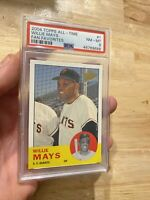 Willie Mays PSA 8 Topps #1 FAN FAVORITES Major League Baseball INVEST 2004 GIFT