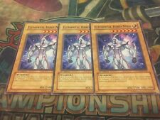 Yu-Gi-Oh Elemental Hero Neos POTD-EN001! Common!! 1st!! X3! LP