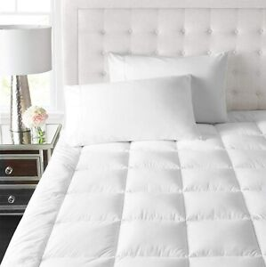 Park Hotel Collection 2 Inch Down Alternative Featherbed Mattress Topper - Ultra