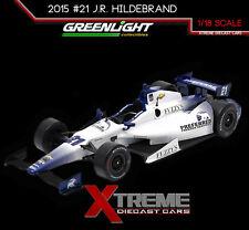 GREENLIGHT 10974 1:18 2015 #21 J.R. HILDEBRAND FUZZY VODKA IZOD INDY CAR RACING