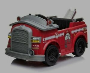 Marshall Fire Truck department Ride On licensed paw patrol car firefighter