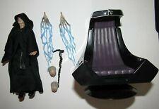 Star Wars Black 6 Inch Figure Emperor Palpatine Amazon Throne complete excellent