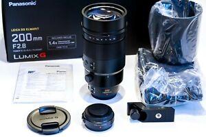 Panasonic Leica DG Elmarit 200mm F 2.8 inkl. 1,4x Telekonverter H-ES200
