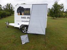 Premium Caravan Fridge / Window Shade 2.5M Sterling Silver