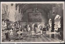 Warwickshire Postcard - The Great Hall, Warwick Castle    A9350