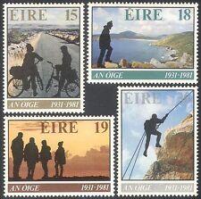 Ireland 1981 YHA/Youth Hostel/Cycling/Bikes/Rock Climbing/Tourism 4v set n22846