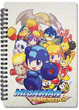 Megaman Spiral Notebook Note Book Anime NEW