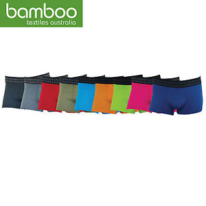 NEW! MENS ANTI-BACTERIAL BAMBOO TRUNKS LOTS OF COLOURS Sizes S - 9XL