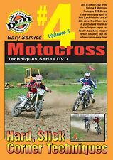 Motocross Techniques Skills, How To Series DVD #4 from Volume 3 by Gary Semics