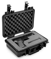 CM Hand Gun Case for Pistol Safe , Padded Gun Storage Handgun Safe for Pistols