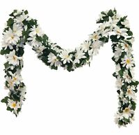 Daisy Garland MANY COLORS Wedding Arch Gazebo Silk Flowers Centerpieces