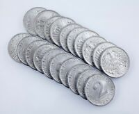 1957 Austria 2 Groschen Coin Lot (20 coins) All in Unc-BU Condition! KM# 2876
