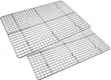 Checkered Chef Cooling Rack Baking Twin Set. Stainless Steel Oven and...