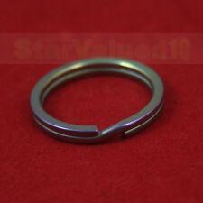 """Titanium Ta2 Split Key Ring Keychain Key Chain 25mm 1"""" Inches M Rainbow"""