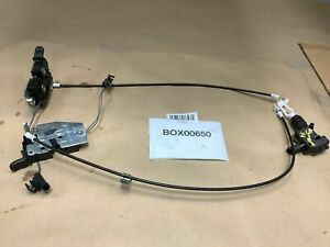2014 SMART FORTWO REAR DRIVER & PASSENGER TRUNK TAILGATE BOOT LATCH LOCK OEM+