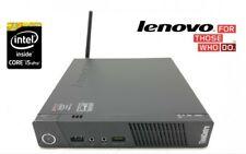 Tiny Lenovo ThinkCentre M73 Intel i5-4570T 4GB DDR3 120GB SSD WiFi/BT WIN 10Pro