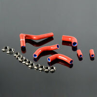 Silicone Coolant Radiator Hose Kit For 2003-2006 DUCATI 999 / 749 / 749R Red