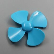 10pcs 100 mm four propellers The wind leaf blades Plastic toys accessories