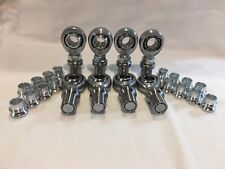 "4 link KIT 5/8-18 CHROMOLY HEIM JOINTS HMS 5/8-1/2 3/4"" ID Tube"