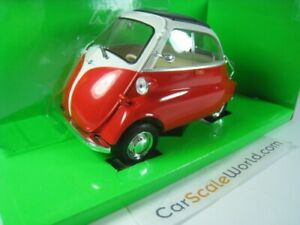 BMW ISETTA 1/18 WELLY (RED)