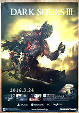 Dark Souls III 3 RARE PS4 XBOX ONE PC 51.5 cm x 73 Japanese Promo Poster #1