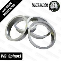 Bulldog Spigot Rings - Fit Discovery 3, 4, RRS Or L322 Wheels To P38 Or Disco 2