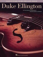 Duke Ellington - Jazz Guitar Chord Melody Solos - Music Book - Guitar
