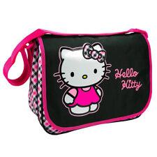 "Promo -36%, Hello Kitty [J6500] - Sac besace A4 ""Hello Kitty"" noir rose (2 co..."