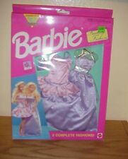 1992  ~ Set of 2  Barbie Fantasy Fashions ~ New T-8