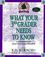 What Your 3rd Grader Needs to Know: Fundamentals of a Good Third Grade Education