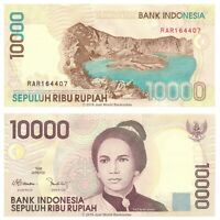 Indonesia 10000 Rupiah 1998 (1999) P-137b Banknotes aUNC About Uncirculated