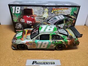 2008 Kyle Busch #18 M&M's Indiana Jones JGR Toyota 1:24 NASCAR Action MIB