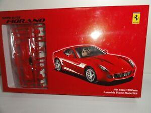 Ferrari 599 GTB Fiorano Berlinetta 1:24 Model Kit  Fujimi