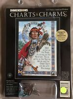 Dimensions Charts & Charms #72377 Native American Wisdom Cross Stitch Pattern
