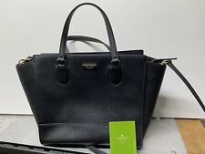 KATE SPADE New York Cameron Street Candace Black Leather Satchel Women's Handbag