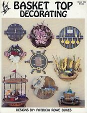 Basket Top Decorating Vintage Country Crafts Wall Decor Project Book