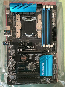 ASRock Z97 Anniversary Mainboard (LGA 1150) + CPU-Kühler Scythe Mugen - OVP - 1a
