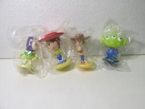 Kellogg's Set Of 4 Disney's Pixar Toy Story Bobble Head Cereal Toy  t5035