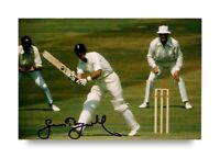 Sir Geoffrey Boycott Signed 6x4 Photo England Cricket Autograph Memorabilia +COA