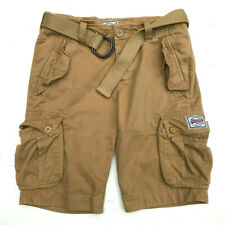 Mens Fleece Lined SUPERDRY Shorts Slim Fit Blue or Motley Grey