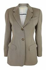 *JIL SANDER* PURE NEW WOOL JACKET (FR 38)