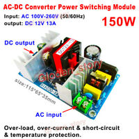 AC-DC Converter 110V 220V 230V to 12V 13A Switching High Power Supply PCB Module