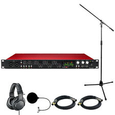 Focusrite Scarlett 18i20 USB Audio Interface (2nd Gen) w/ Headphone Bundle