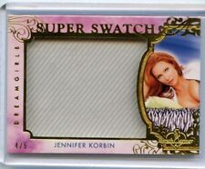 2018 BENCHWARMER DREAMGIRLS JENNIFER KORBIN SUPER SWATCH # 4/5