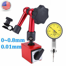 New Flexible Magnetic Base Holder Standdial Test Indicator Gauge Scale 008mm