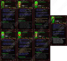 Diablo 3 RoS XBOX ONE [SOFTCORE] Full Legit Primal Firebirds Finery Wizard Set