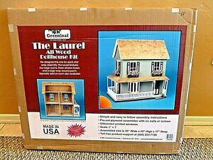 Greenleaf THE LAUREL All Wood dollhouse Kit