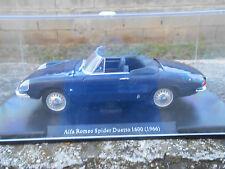 AUTO VINTAGE ALFA ROMEO SPIDER DUETTO 1600 - 1966 -  SCALA 1/24